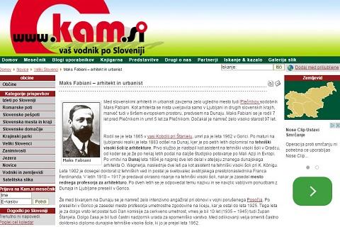 Opis strani Znani slovenci